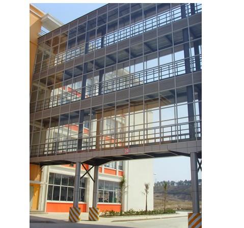 淮南钢构公司多层钢结构天桥